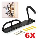 Steel Bike Bicycle Storage Wall Mounted Mount Hook Rack Holder Hanger Stand XG <br/> Fit for 5.5cm Wide Tires, 4 Pre-drilled Mounting Holes
