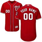 Customized Washington Nationals Grey | White | MLB Flex Base Jersey (NWT) <br/> Customized any &quot;Name&quot; any &quot;Number&quot;