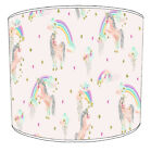 Unicorns Lampshades, Ideal To Match Children s Unicorns Quilts  Bedspreads