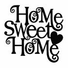 Home Sweet Home Vinyl Decal Car Window Sticker You Pick The Size & Color