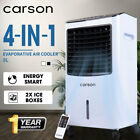 CARSON Portable Evaporative Air Cooler Humidifier Fan Cooling Purifier Timer