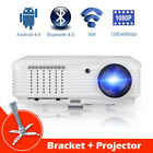 CAIWEI 4500LMS HD Home Theater Projector Xbox 1080P Multimedia Movies HDMI Stand