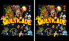 Mame Multicade Classics Side Art Arcade Cabinet Graphics Decals Stickers Set
