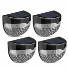 4pcs Outdoor Solar Powered Waterproof LED Light with 6 LEDs&Intelligent Senso NM