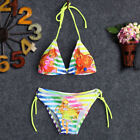 Kids Baby Girl Beauty Mermaid Swimwear Swimsuit Bikini Set Tankini Age 2-10Year