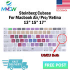 EU US Hotkey Design Silicone Keyboard Cover Skin For Macbook Pro Air 13 15 17