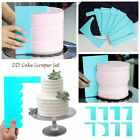 Easy Plastic Cake Smoother Cake Scraper Spatula For Baking Cake Decorating Tools