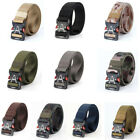 US Outdoor Men Sports Military Tactical Nylon Waistband Canvas Web Belt Dazzling