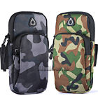 Sports Running Armband Bag Holder Camo Colors Pouch Case Cover For Cell Phone