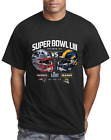 Super Bowl 53 T Shirt 2019 LIII Los Angeles Rams vs New England Patriots T Shirt image