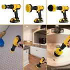 3Pcs/Set Tile Grout Power Scrubber Cleaning Drill Brush Tub Cleaner Combo Kit