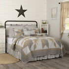 DAKOTA STAR FARMHOUSE BLUE Quilt Sets - Choose Size & Accessories - VHC image