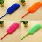 Soft Microfiber Cleaning Duster Handle Feather Window Blinds Car Dust Cleaner