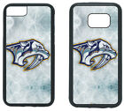 NASHVILLE PREDATORS PHONE CASE COVER FITS iPHONE 6 7 8+ XS MAX SAMSUNG S7 S8 S9+ $13.5 USD on eBay