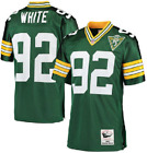 Reggie White #92 Green Bay Packers Men's Green Retired Player Throwback Jersey on eBay