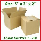 5x3x2 Cardboard Packing Mailing Gift Moving Shipping Boxes Corrugated Box Carton