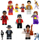 Elvis Bowie Elton John Queen Mercury Michael Jackson Mini Figures Free Gift Bag