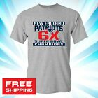 2019 Super Bowl LIII 53 Champions New England Patriots T Shirt NFL 6 Time 009