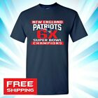 2019 Super Bowl LIII 53 Champions New England Patriots T Shirt NFL 6 Time 009 image