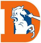 "Denver Broncos Classic Retro Color Vinyl Decal Sticker - You Choose Size 2""-28"" $5.79 USD on eBay"