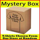 RRP £100 - T Shirts x10 Funny Novelty tees tshirts - Random from our store