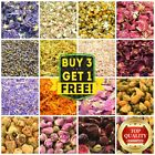 25g Dry Flowers & Dried Petals 51+ Types! Tea Soap Bath Crafts Candle Confetti