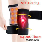 Self Heating Knee Pads Magnetic Therapy Tourmaline Elbow Wrist Belt 1Pair Brace