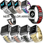 For Apple Watch Series 5 4 3 2 Strap Bracelet Wrist Stainless Steel Band iWatch image