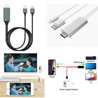 6 Feet 1080p Lightning to HDMI HDTV AV Adapter Cable For iPhone 5/6/7/8/XS Max