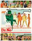 "DR. NO 1962 = James Bond 007 SECRET AGENT Sexy Women = POSTER 7 SIZES 19"" - 36"" $62.88 CAD on eBay"