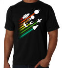 Sci-Fi Space Ships Star Trek Wars Aliens Space Exploration Movies Black T-Shirt on eBay
