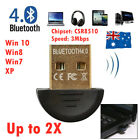 Wireless Usb Bluetooth V4.0 Dongle Adapter Receiver Laptop 3mbp Win Xp//7/8/10