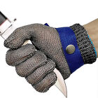 Cut Resistant Stainless Steel Mesh Wire Safety Butcher Gloves Level 5 Protection