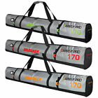 BRUBAKER CarverTec Pro Ski Bag for 1 Pair of Skis and Poles - multiple colors