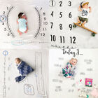Kyпить Newborn Baby Monthly Growth Milestone Blanket Letter Prop Photography Background на еВаy.соm