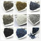 1000pcs 16g 2*3mm Metal Color Tube Loose Czech Glass Beads Diy Jewelry Making