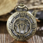 POCKET WATCH STEAMPUNK SKELETON MECHANICAL STYLE VINTAGE CHAIN WATCHES UNISEX