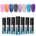 LILYCUTE 5ml Matte Gel Polish Soak Off Glitter Pearl Nail Art UV Gel Varnish