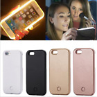 Selfie LED Light Up Bright Phone Back Case Cover For iPhone X Plus 8 7 6 6s