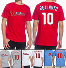 J.T. Realmuto Philadelphia Phillies #10 MLB Jersey Style Men's Graphic T Shirt on Ebay