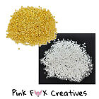 500 X 2mm Crimp Beads Gold Silver Plated Jewellery Hobby Finding Tube Stopper