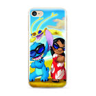 Cool Lilo & Stitch Pattern Ultra Thin Phone Case Cover For iPhone Samsung LG