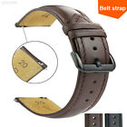 ADFE Unisex Watch Band 16/18/20/22mm Leather Soft Wrist Straps Quick Release image