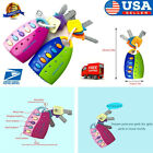 Toy Keys For Toddlers And Baby Toys-Toy Car Keys With Keychains, Light And Sound