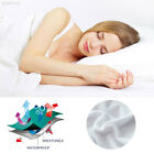40AF Soft Mattress Cover White Machine Washable Comfortable Bedspread image