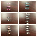 Origami Owl 'Mom' Charms-New-Authentic