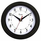 Retro Wall Clock Living Room Silent Decorative Home Office Large Numbers