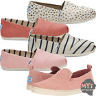 Kyпить Womens Toms Classic Canvas Shoes Slip On Mens All Sizes Loafers Flats New на еВаy.соm