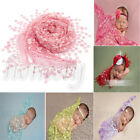 1X Newborn Baby Girl Lace Wrap Blanket Gauze Kerchief Costume Photography Props