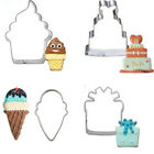 Cupcake Ice Cream Cookie Tools Baking Pastry Modelling Tools Stainless Steel  SP